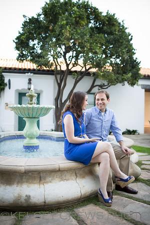 Christina and Brad's Santa Barbara Engagement Session