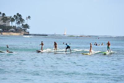 Surfing - Oahu, Hawaii 🔒