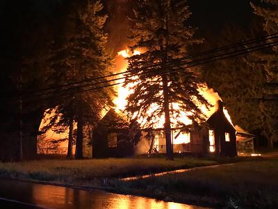 Susquehanna Blvd Structure Fire - Hazle Township (5/13/2017)