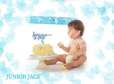 Junior Jace Cake Smash 22-09-18
