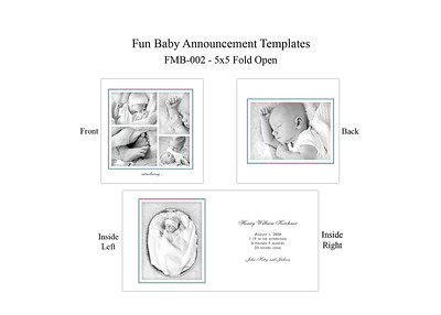 Greeting Card Templates-Baby