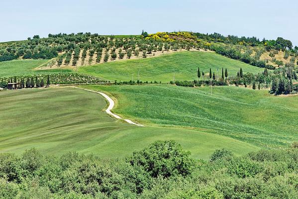 Routes et campagnes toscanes