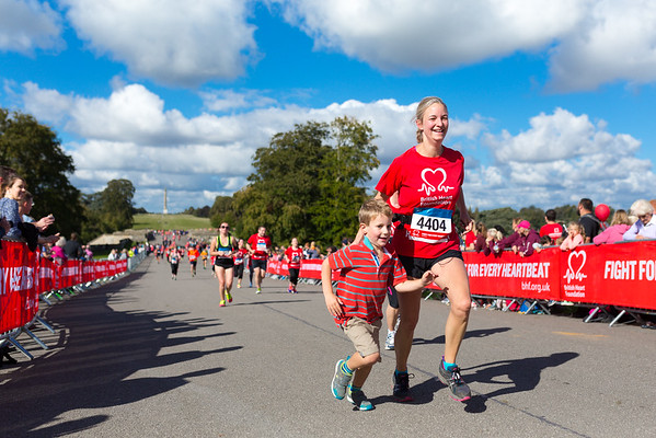 The 2016  Blenheim Palace Half Marathon & 10K with the British Heart Foundation