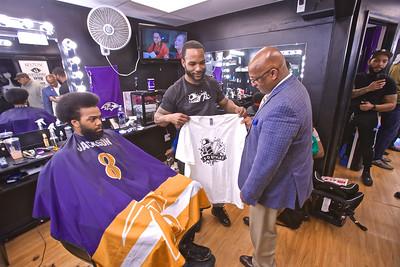 March 07, 2020 - Barbershop Visit at 3D Stylez