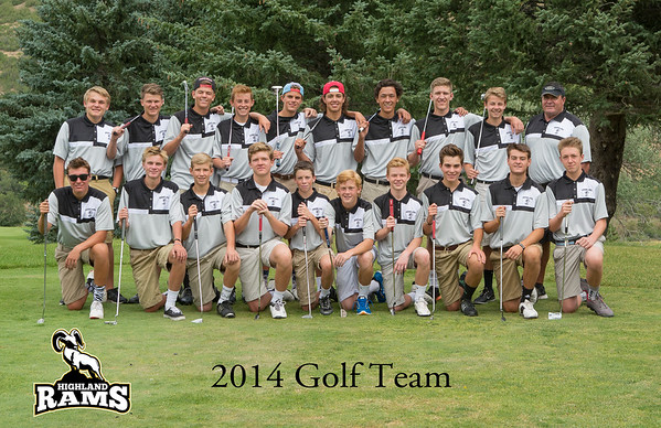 2014 Highland Golf Team