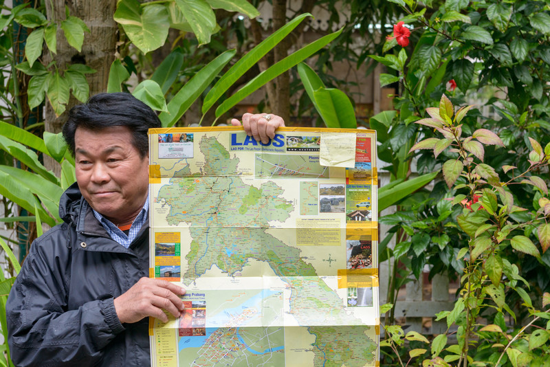 Our guide in Luang Prabang, Mr. Chan.