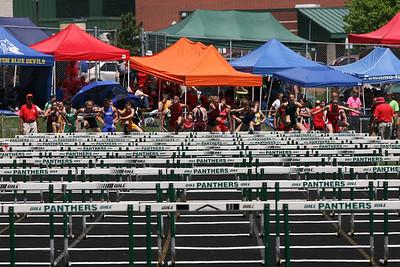 D3 Girls' 100 Meter Hurdle Finals - 2014 MHSAA LP T&F Finals