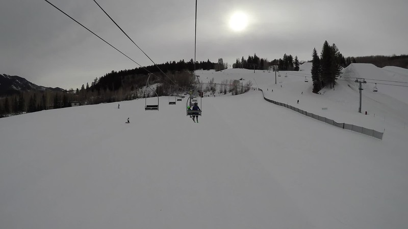 Annika's First time skiing