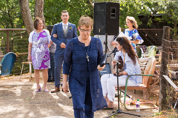 Justin Colette Ceremony