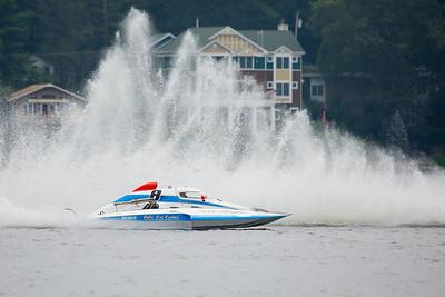 Thunder on Webster Lake 2013