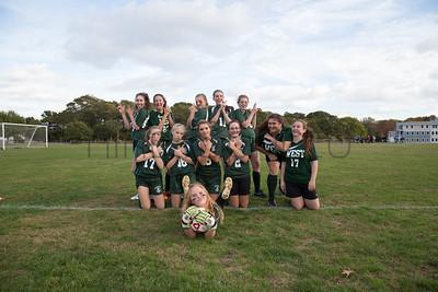 Sturgis West JV Girls Soccer (vs. Nantucket)(2014)