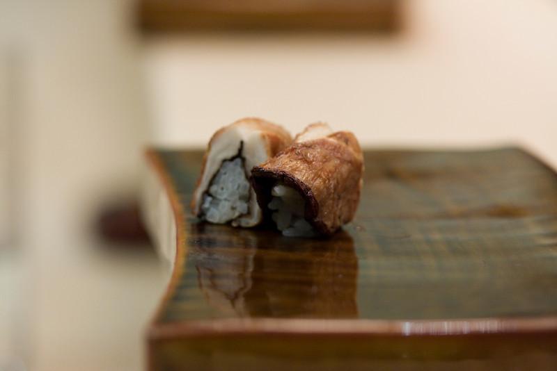 Course #10: Sushi Sushi #13: Cooked Mushroom