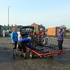 8.30 AM Loading up in Taunton
