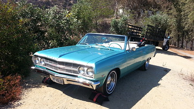65 Chevy Malibu Conv Blue