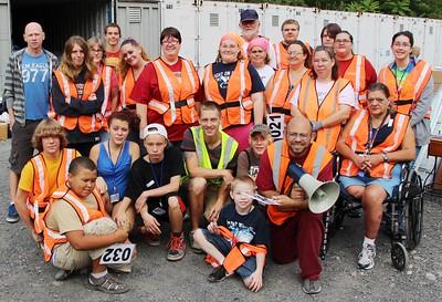 Donation Drop-Off and Tamaqua Community Giveaway, M & M Self Storage, Tamaqua (8-30-2014)