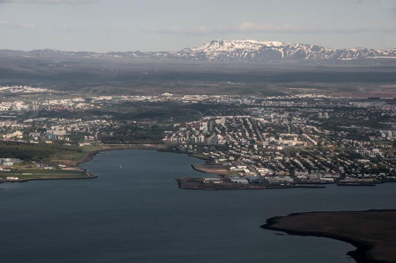 Iceland from the Air - Akureyri to Reykjavik
