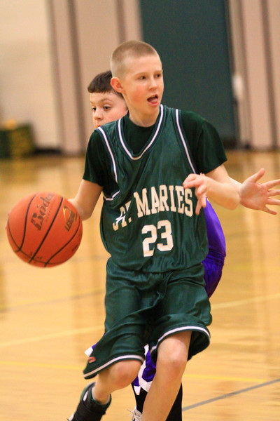 7th grade boys basketball vs kellog 2-3=2011