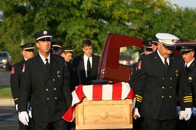 Bryon Johnsons Funeral