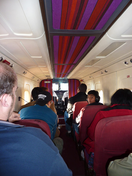 It was a cosy plane to the canyon