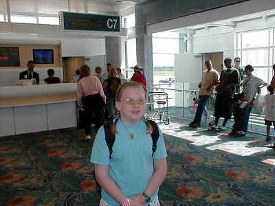 Kelly Airport Trip - 6/20/2001