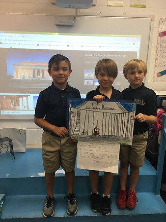 Sharing our American Symbol Poster Projects!