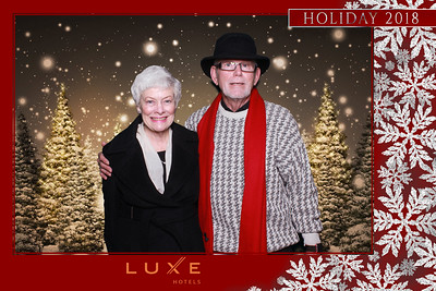 LUXE Beverly Hills Holiday Party 2018