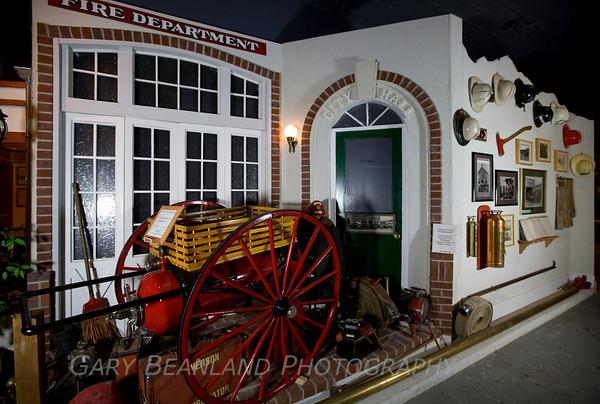 Museum Fire Dept Exhibit