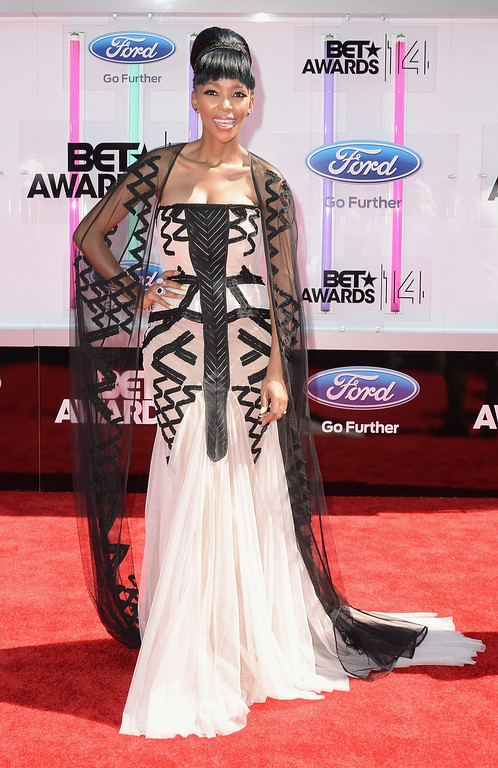 . Singer Nhlanhla Nciza of Mafikizolo attends the BET AWARDS \'14 at Nokia Theatre L.A. LIVE on June 29, 2014 in Los Angeles, California.  (Photo by Earl Gibson III/Getty Images for BET)
