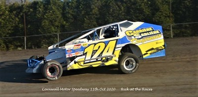 Cornwall Motor Speedway - 10/11/20 - Rick Young