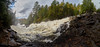 Algonquin Ragged Falls Panorama-2FR