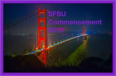 SFSU 2019 COMMENCEMENT -Oracle Park SF