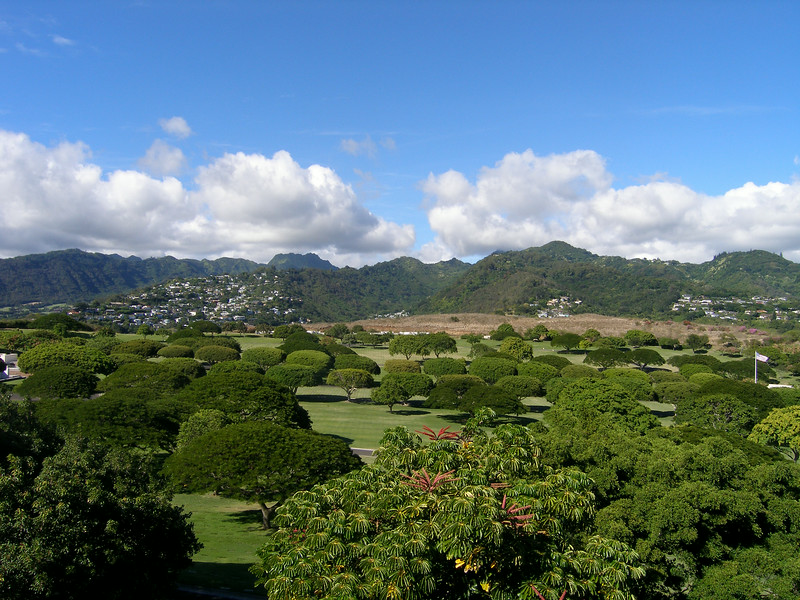 National Memorial Cemetery of the Pacific - Punchbowl Crater