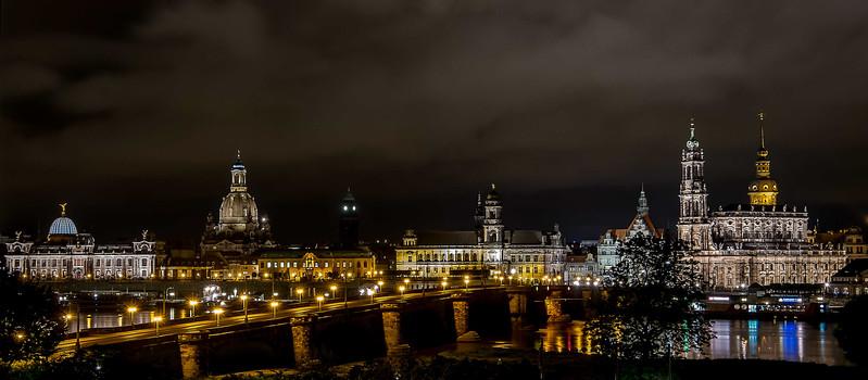 Augustus Bridge, Dresden, Germany 2014