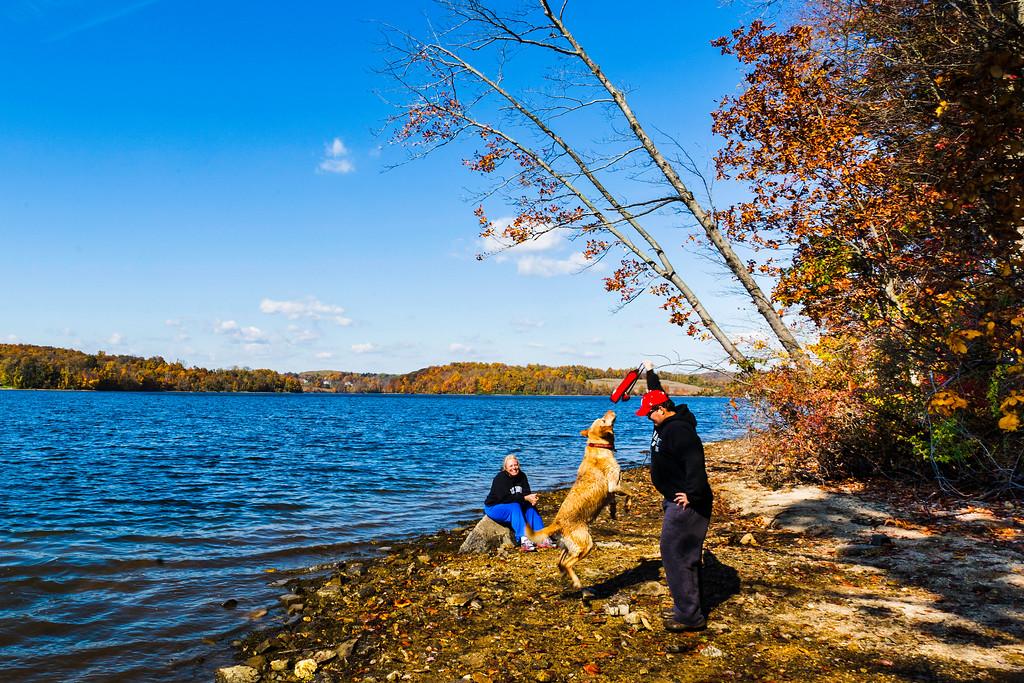 滨州马什溪州立公园(Marsh Creek State Park),秋天童话