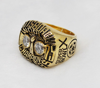 1975 Pittsburgh Steelers super bowl ring XIV