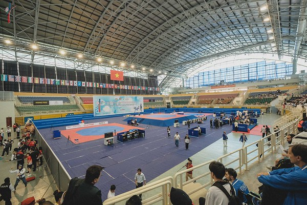 Para, Poomsae Day 1 and Opening Ceremony