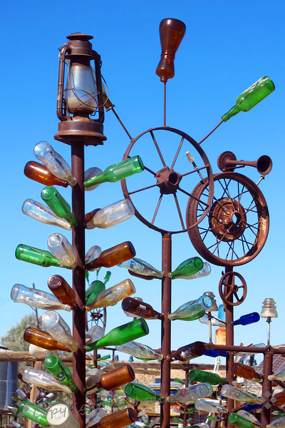 Lantern, Wheels & Bottles, Oh My!