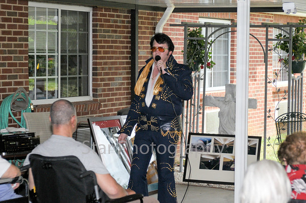 Elvis at Ivy Hall Nursing Home 5-26-2010
