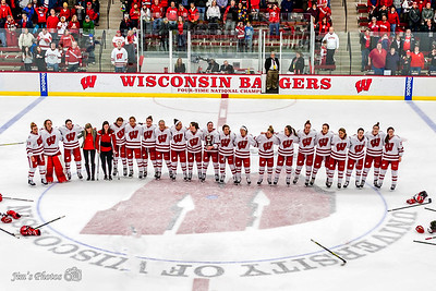 UW Sports - Women's Hockey - Feb 14, 2016