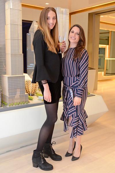 Rebeka Bardou, Lauren Wachsman AVENUE MAGAZINE Presents the SALON DINNER & CONVERSATION about PUBLIC ART Featuring YVONNE FORCE VILLAREAL 10 Hudson Yards NYC, USA - 2017.04.06 Credit: Lukas Greyson