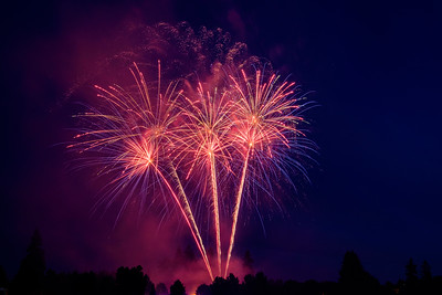 Lacey Fireworks July 2016