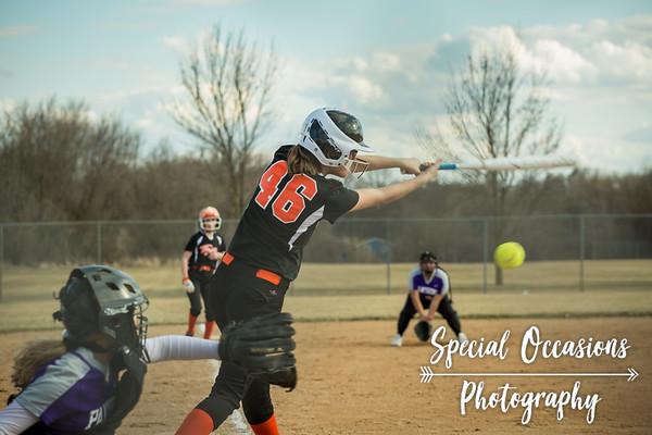 7th Grade Delano Softball 4-27-18