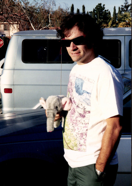 1990 Jim and new elephant