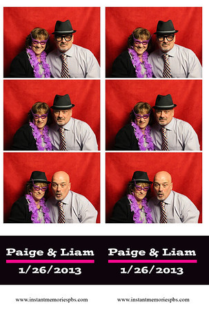 Paige and Liam's Wedding 01-26-2013