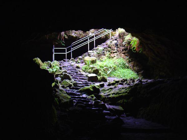 Lava Tube @ Ape Cave
