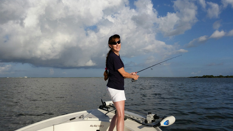 "Chrisann Merchant 28"" - Redfish"