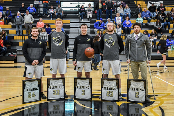 FCHS Boys Basketball Senior Night