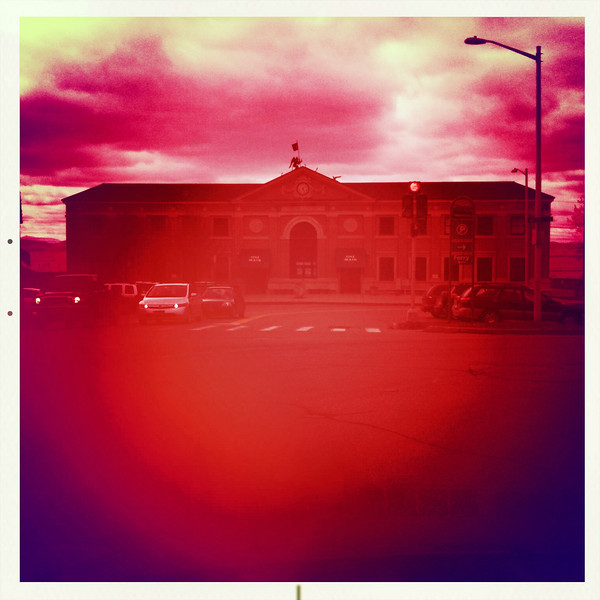 Union Station - Burlington, VT Lens - Kaimal Mark II Film - Alfred Infared