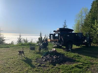 2021.05.14 Olympic Peninsula camping
