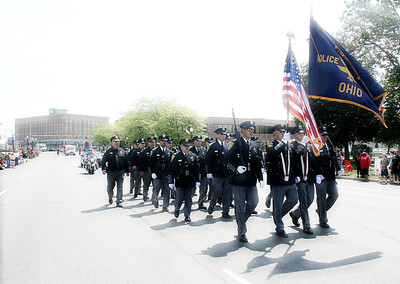 LORAIN POLICE DEPARTMENT HONOR GUARD - MEMORIAL DAY